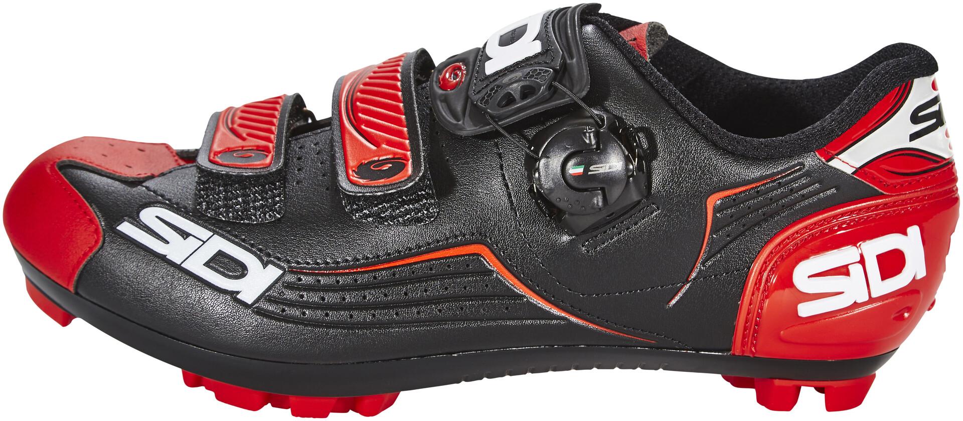Sidi Trace Shoes Herren blackred